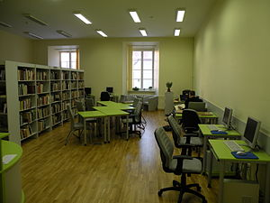 Vilnius University Library - The Lithuanian Reading Room