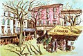 Vaison-la-Romaine Guy Moll's painting taken by the author under CC BY 2.0 license.jpg