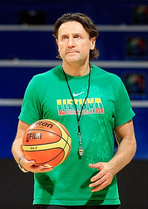 BC Žalgiris - Valdemaras Chomičius played 11 straight seasons from 1978 to 1989.