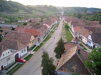 Valea Viilor - Image: Valea Viilor Vedere 1