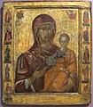 Vallacchia, icona processionale con madonna hodegetria tra profeti, 1512-13, da vallacchia.JPG