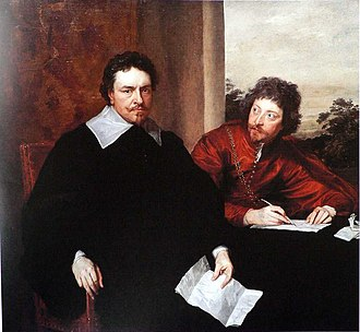 Thomas Wentworth, 1st Earl of Strafford - The Earl of Strafford with his secretary, Sir Philip Mainwaring