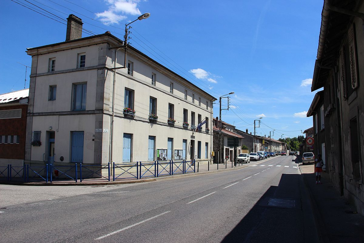 Velaines wikip dia for Bar le duc code postal