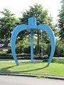 Veldhoven - Sculptuur 'Blauwe appel' aan de Dom.jpg