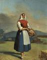 Vendedeira de flores (1 de Janeiro de 1879) - Francisco José Resende.png