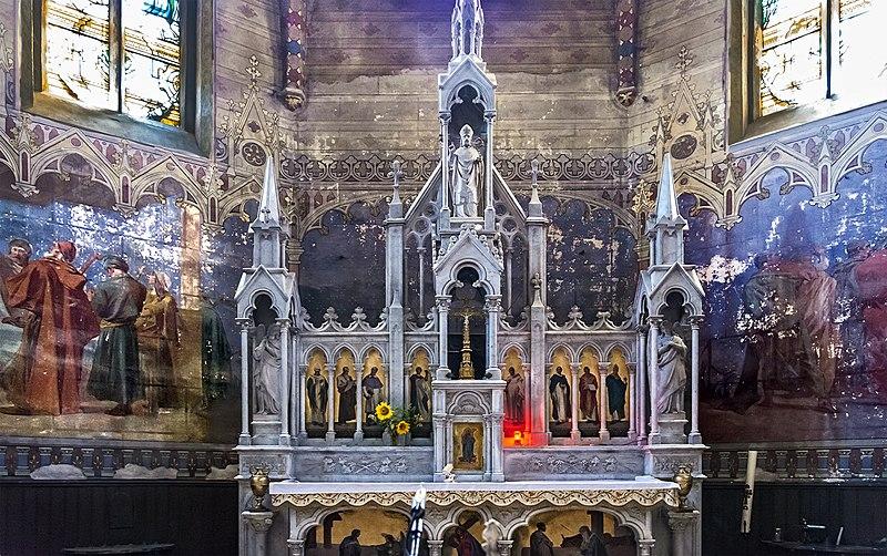 Fichier:Verfeil (Haute-Garonne) - L'église Saint-Blaise - Maître autel.jpg