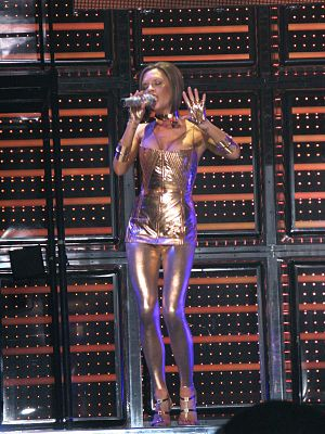 Say You'll Be There - Victoria Beckham performing the song in Las Vegas, during the Return of the Spice Girls tour