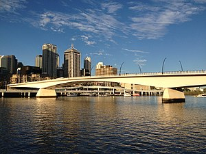 Victoria Bridge, Brisbane - Victoria Bridge
