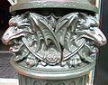 Victorian London lamppost detail, Museum of London.JPG