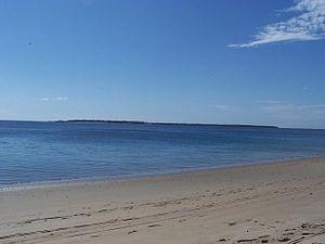 Mnazi Bay-Ruvuma Estuary Marine Park - Image: View across Mnazi Bay small