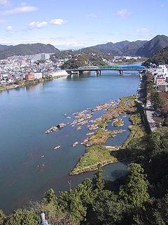 Kiso Three Rivers Major rivers in the Nōbi plain