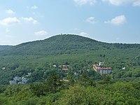 View of János Hill from Kis-Hárs Hill.JPG