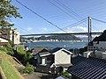 View of Kammonkyo Bridge near entrance of Hinoyama Park.jpg