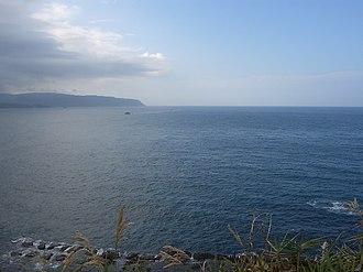 East China Sea - View of East China Sea from Yeliou, Taiwan