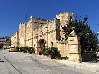 Castello Dei Baroni - Image: View of the Castello dei Baroni