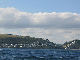 Looe - View towards Looe, taken from near Looe Island