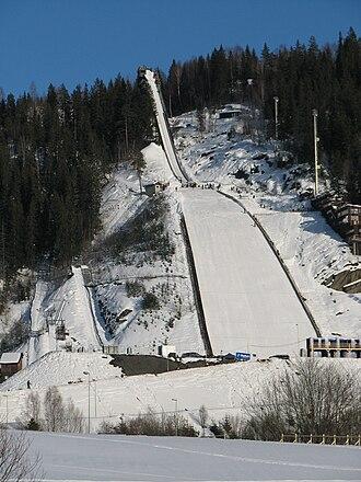 Vikersund - Ski flying hill in Vikersund, Vikersundbakken