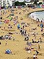 Viking Bay beach at Broadstairs, Kent, England.jpg