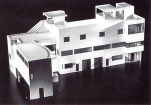The Architectural Work of Le Corbusier - Image: Villa laroche le corbusier