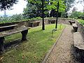 Villa san michele, giardino ovest, pensatoio 02.JPG