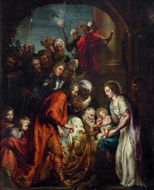 Vincent Malo - The adoration of the Magi