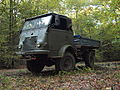 Vintage military truck in France.jpg