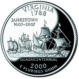 Virginia quarter, reverse side, 2000.jpg