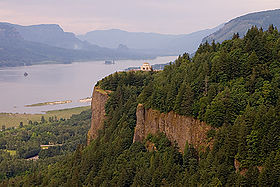 Crown Point dans la gorge du Columbia.