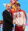 Vladimir Putin and Maksim Vylegzhanin 24 February 2014.jpeg