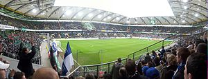 Volkswagen Arena - Panorama of the Volkswagen-Arena