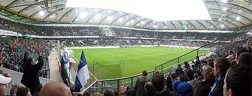 Volkswagen-Arena Gästeblock