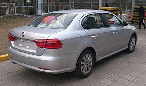 Volkswagen Lavida - Volkswagen Lavida sedan (China)