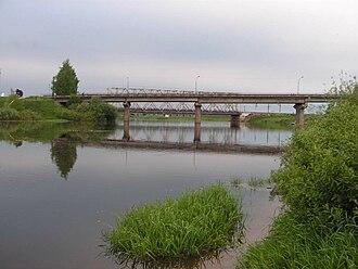 Vop River - Vop River at Yartsevo