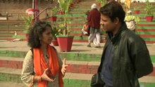 File:Vrinda Dar - Talking of construction illegalities at the observatory at Man Mandir Ghat.webm