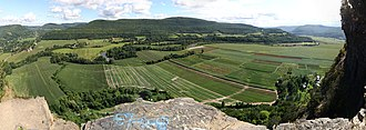 Vroman's Nose - Panorama from Vroman's Nose.