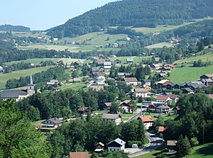 Habère-Poche - A view of Habère-Poche
