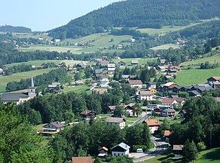 Habère-Poche Commune in Auvergne-Rhône-Alpes, France