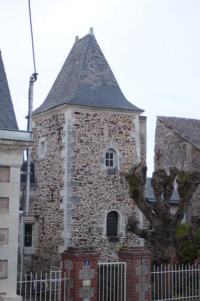 Le Présidial, château des Evêques, Fr-49-Chalonnes-sur-Loire.