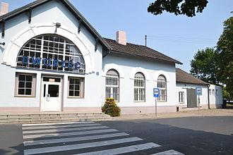 Zduńska Wola - Train station in Zduńska Wola