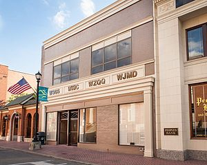 WSGS - Studios of WSGS and sister-stations in Downtown Hazard