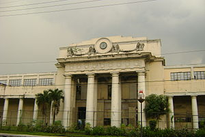 Paco, Manila - Facade of the Paco railway station.