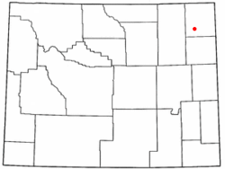 Location of Pine Haven, Wyoming