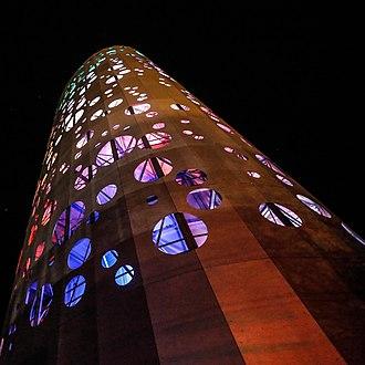 Thermal energy storage - Thermal energy storage tower inaugurated in 2017 in Bozen-Bolzano, South Tyrol