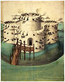Walmer or Sandown (Kent) castle, 1539 draft.jpg