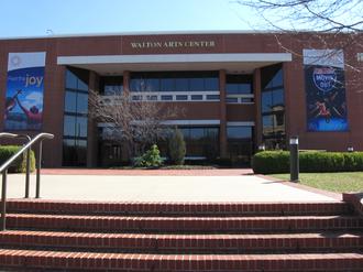 Walton Arts Center - Main Entrance to the Walton Arts Center