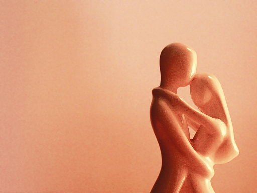 Waltzing together statue