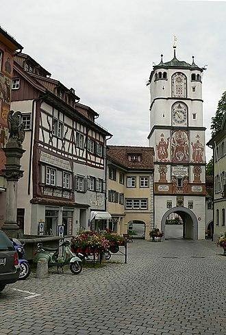 Wangen im Allgäu - The Ravensburg Gate