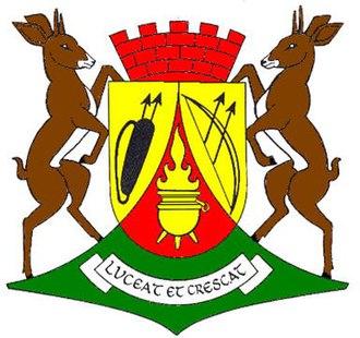 Mariental, Namibia - Image: Wappen Mariental Namibia