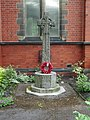 War Memorial, The Parish Church of St Cuthbert, Burnley - geograph.org.uk - 832708.jpg