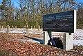 War cemetery for World war I in Marchtrenk, Upper Austria, Austria-russian section-field N & memorial stone PNr°0648.jpg